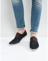 ALDO - Daleni Mesh Boat Shoes - Lyst