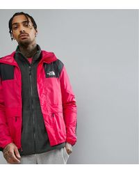 The North Face - 1985 Mountain Jacket Exclusive To Asos In Bright Pink - Lyst