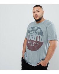 Jack & Jones - Originals Plus Size T-shirt With Vintage Miami Graphic - Lyst