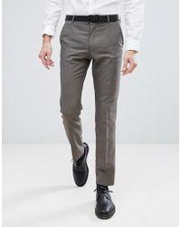 SELECTED - Slim Wedding Suit Pants - Lyst