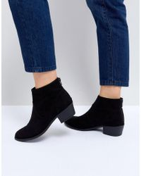 New Look | Classic Suedette Western Boot | Lyst