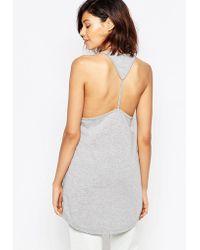 Good Vibes, Bad Daze - Good Vibes Bad Daze Vest Top With Cut Out Back - Lyst
