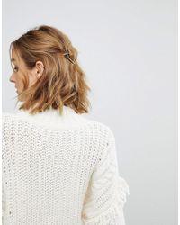 Orelia - Hexagon Thread Through Hair Clip - Lyst