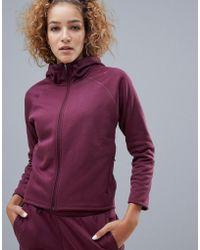 b97bbae44f3e99 PUMA Evostripe Fz Jacket Women s Sweatshirt In Pink in Pink - Lyst