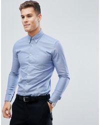 Reiss - Slim Button Down Shirt - Lyst