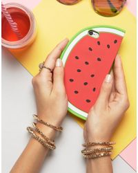 New Look - Watermelon Novelty Phone Case - Lyst