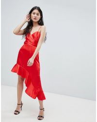 Finders Keepers - Finders Asymmetric Cami Dress - Lyst