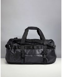 The North Face - Base Camp Duffel Bag Medium 71 Litres In Black - Lyst