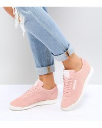 Reebok - Classic Princess Trainers In Pink - Lyst