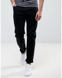 Lyle & Scott - Slim Fit Jeans Black - Lyst