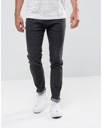Bellfield - Skinny Jeans In Washed Black - Lyst