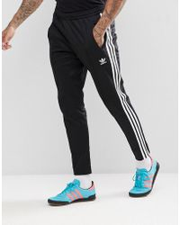 adidas Originals - Adicolor Beckenbauer Joggers In Skinny Fit In Black Cw1269 - Lyst