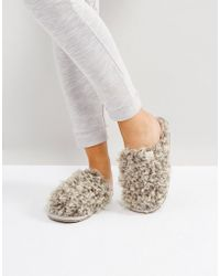 Bedroom Athletics - Nelly Bobble Fur Mule - Lyst