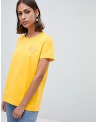 Minimum - Moves By Slogan T-shirt - Lyst