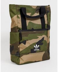 b0ccb3d50ea Lyst - adidas Originals Backpack In Shoe Chaos Print Ax5789 in Blue ...
