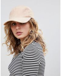 Weekday - Faux Suede Cap - Lyst