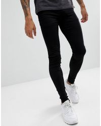 Blend - Flurry Extreme Skinny Fit Jeans In Black - Lyst