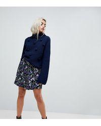 Vero Moda   Floral Printed Skirt   Lyst