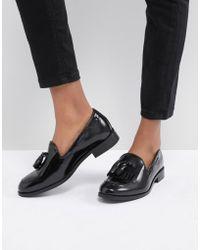 H by Hudson - Fringe Leather Loafer - Lyst