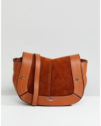 Dune - Cross Body Bag In Tan - Lyst