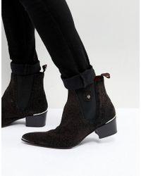 Jeffery West - Sylvian Glitter Boots - Lyst