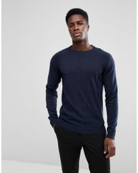 SELECTED - Knit With Raglan Sleeves - Lyst