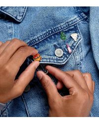 ASOS - 4 Pack Pin Badge Set With Cactus - Lyst