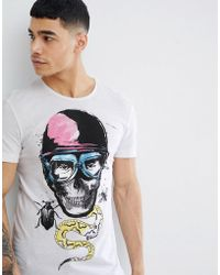 Blend - Insect Skull T-shirt - Lyst