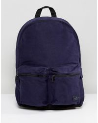 French Connection - Canvas Backpack - Lyst