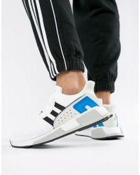 low priced 2edf9 c7df4 adidas Originals - Eqt Cushion Adv Trainers In White Cq2379 - Lyst