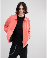 Herschel Supply Co. - Mod Harrington Jacket In Pink - Lyst