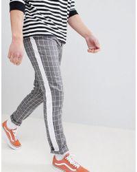 Adidas originali ultimate 365 pantaloni in grigio cw5771 in grigio per gli uomini lyst
