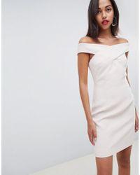 Reiss - Darina Bardot Bodycon Dress - Lyst
