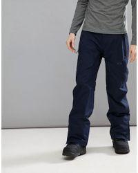 Oakley - Snow Vertigo Bzs Ski Trousers 15k Waterproof In Navy - Lyst