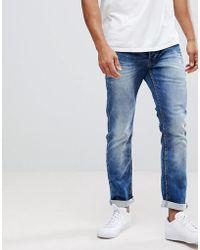 Solid - Slim Fit Jeans In Hybrid Denim - Lyst
