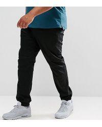 ASOS | Plus Slim Woven Joggers In Black | Lyst