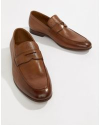 ALDO - Umiasen Penny Loafers In Tan Leather - Lyst