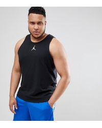 Nike - Nike Plus Jumpman Vest In Black 861494-010 - Lyst