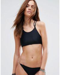 Evil Twin - High Neck Bikini Top With Hardwear - Lyst