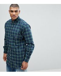 Polo Ralph Lauren - Tall Check Oxford Shirt In Dark Green - Lyst