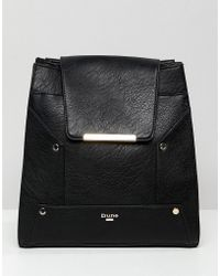 Dune - Doolan Backpack With Contrast Stud Detail - Lyst
