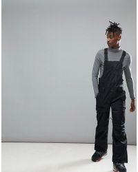 Oakley - Snow Timber Bzs Bib Ski Trousers 15k Waterproof In Black - Lyst