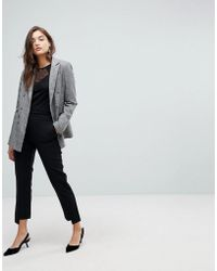 Warehouse - Step Hem Tailored Trousers - Lyst