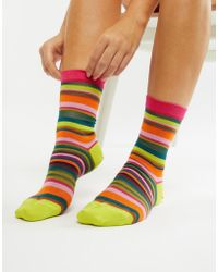 PS by Paul Smith - Ps By Paul Smith Stripe Sock - Lyst