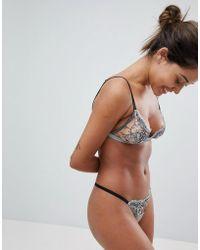 Coco De Mer - Pamela Loves Femme Triangle Bra - Lyst