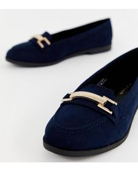 aa910ad814f329 Lyst - Ted Baker Carlsun Suede Loafers in Blue