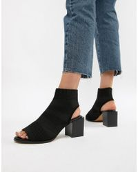 17f9d445e78f Asos Enchanter Chunky Ankle Boots in Black - Lyst