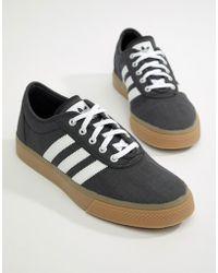 Lyst adidas Originals Adi Ease formadores en negro cq1067 en negro