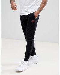 Blend | Slim Logo Joggers In Black | Lyst