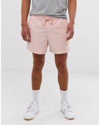 534ee6f641 Pantalones cortos ajustados de punto con bolsillo MA1 en rosa ASOS de  hombre de color Rosa - Lyst